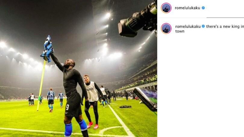 Inter, Lukaku punge Ibrahimovic: