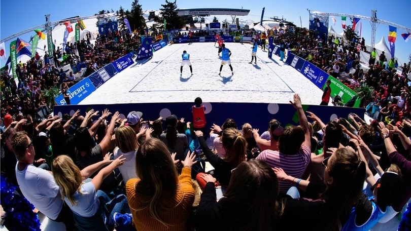 La FIVB lancia il secondo Snow Volleyball World Tour