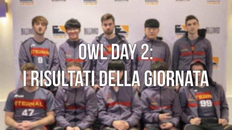 OWL - Day 2: I risultati di giornata