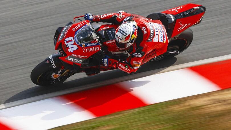 Test MotoGp a Sepang, Dovizioso: