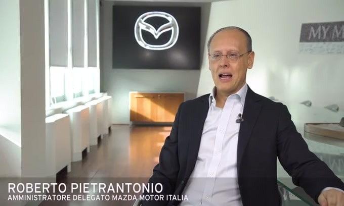 Roberto Pietrantonio presenta i Mazda MX-30 e-Talks VIDEO