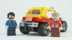 Dune Buggy realizzata in mattoncini Lego: gli scatti