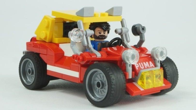 Dune Buggy di Bud Spencer e Terence Hill costruita con i Lego