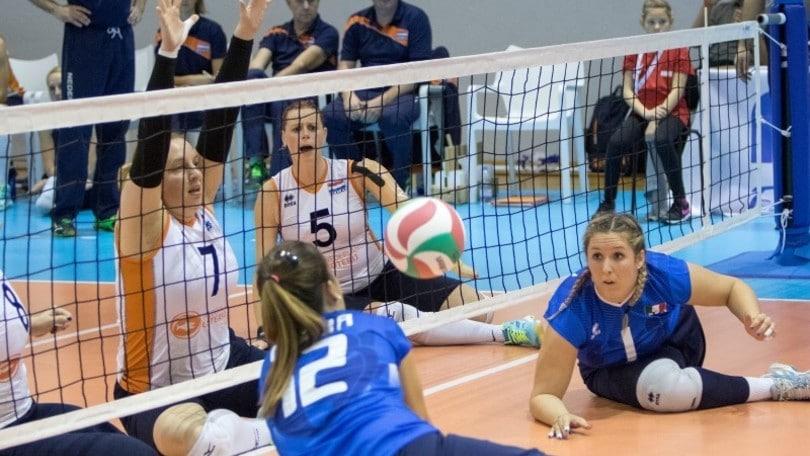 La femminile di sitting si allenerà in Germania