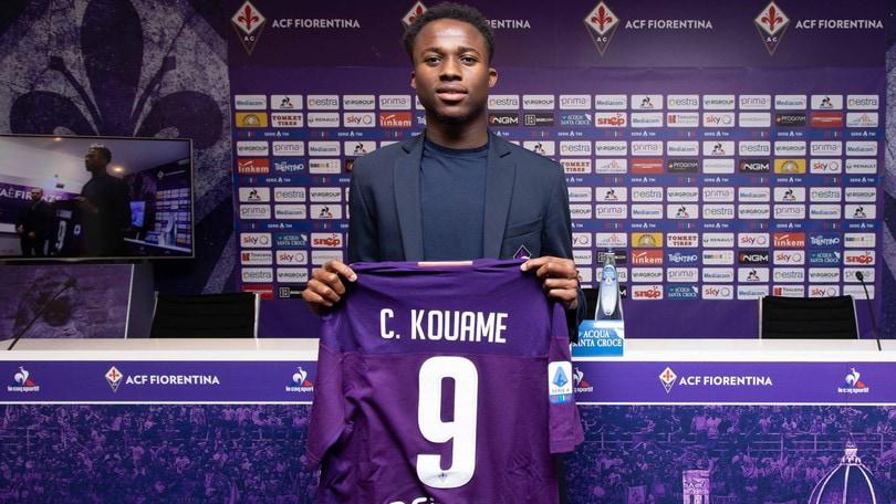 Fiorentina, Kouame e un calendario per amico