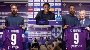 Fiorentina, Kouame si presenta in conferenza: avrà la 9