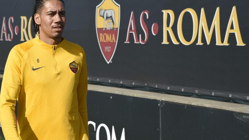 La Roma incontra l'agente, Smalling: