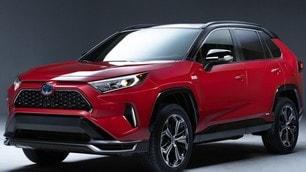 Toyota RAV4 plug-in hybrid: le immagini