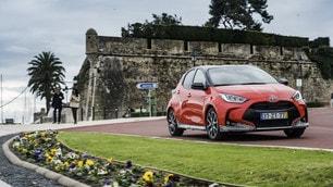 Nuova Toyota Yaris, la prova FOTO