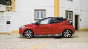 FOTO: Nuova Toyota Yaris, la prova