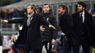 Inter-Napoli, rabbia Conte contro l'arbitro Calvarese