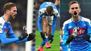 Il Napoli stende l'Inter: Fabian Ruiz, magia ed esultanza con il parastinco