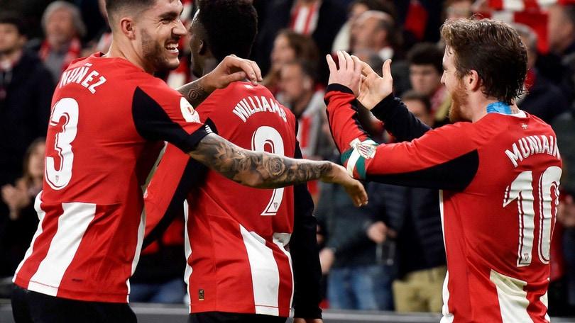 Coppa del Re, l'Athletic Bilbao vince il primo round con il Granada