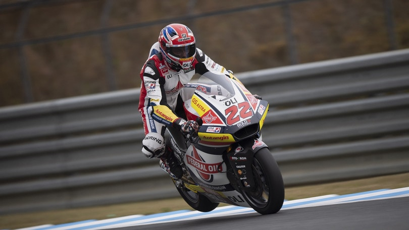 Moto2, Jerez: infortunio a Sam Lowes, niente test