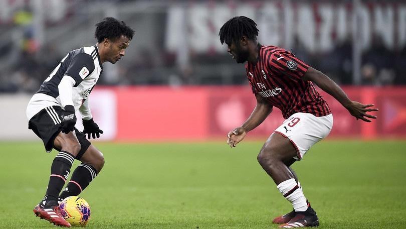 Coppa Italia Milan-Juve 1-1, il tabellino