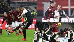 Ibrahimovic contro Ronaldo, Milan-Juve è uno spettacolo