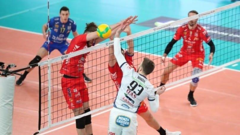 Champions League: Civitanova spietata Trento va ko
