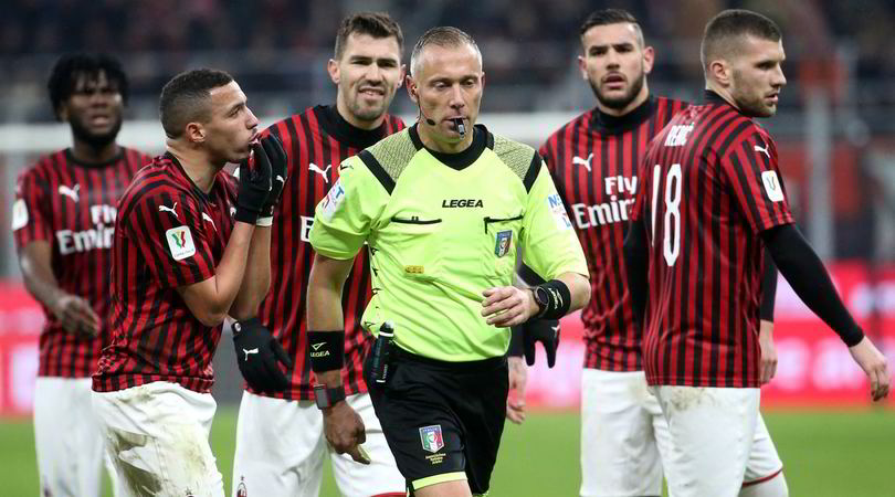 Milan-Juve: Valeri, giusto andare a rivedere il fallo di mano