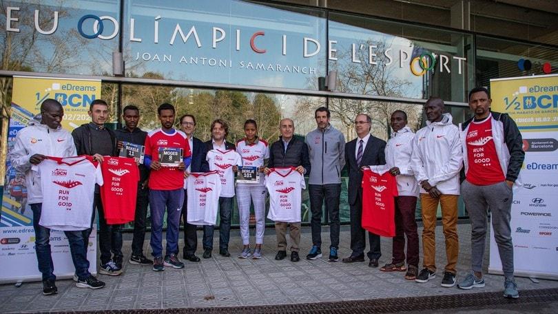Barcellona, pronta per la più grande eDreams Mitja Marató nella storia