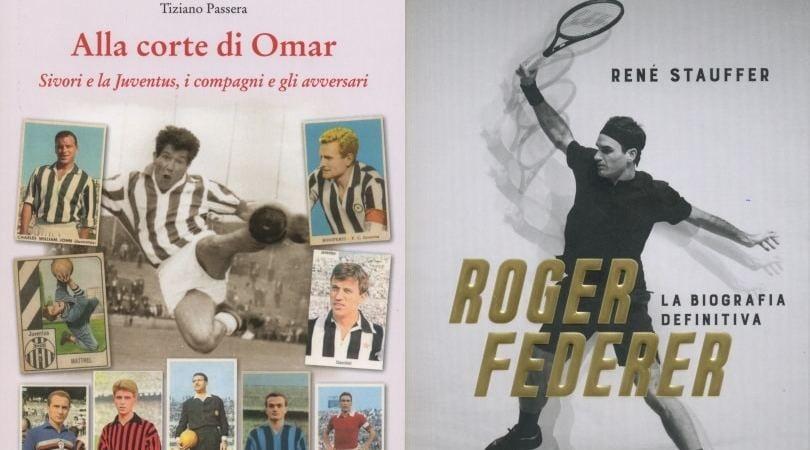 "Una storia ""diversa"" di Omar Sivori e l'avventura tennistica di Roger Federer"