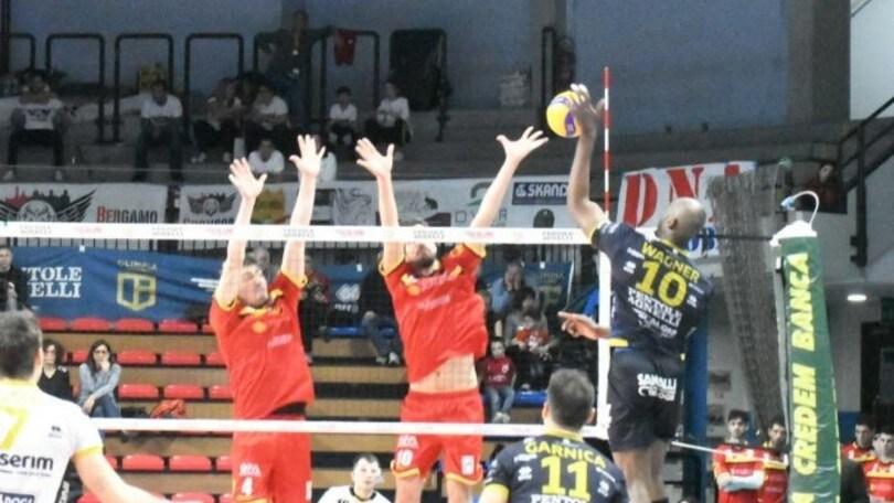 A2 Maschile, Bergamo suona la 10a contro Reggio