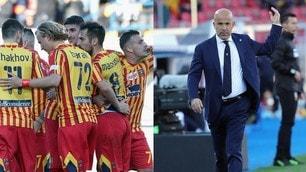 Mancosu-Majer, che festa a Lecce! Di Biagio debutta con un ko