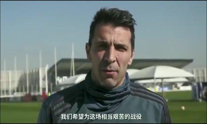 Juve, arrivano le scuse di Buffon alla popolazione cinese