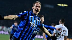 Roma ko con l'Atalanta: Pasalic, gol lampo da Champions