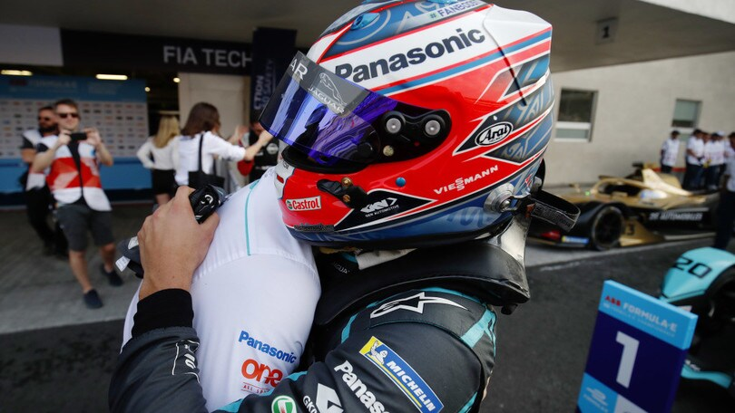 ePrix Messico, Evans in trionfo