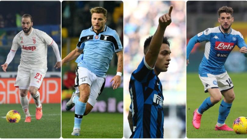 Serie A: tutte le probabili formazioni della 24ª giornata