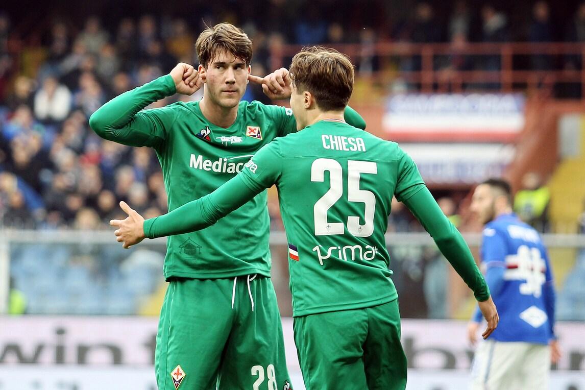 Rigori, espulsioni, show di Chiesa e Vlahovic: che cinquina della Fiorentina!