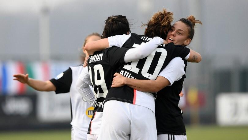 La Juve vince 5-1 con l'Inter e rimette a distanza Fiorentina, Milan e Roma
