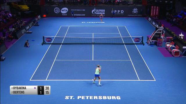 WTA - Bertens, che trionfo a San Pietroburgo!