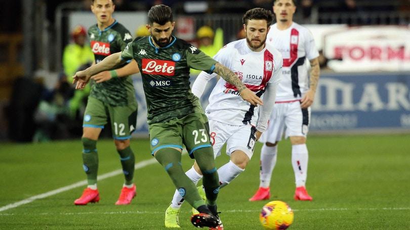 Cagliari-Napoli 0-1, il tabellino
