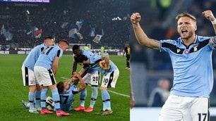 La Lazio non si ferma e sogna: battuta l'Inter con Immobile e Milinkovic