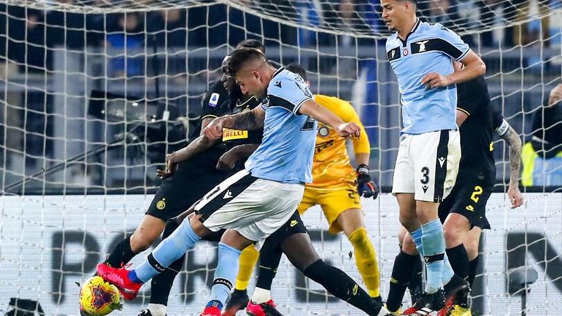 Lazio-Inter 2-1, il tabellino