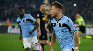 Lazio-Inter 2-1: biancocelesti secondi a -1 dalla Juve
