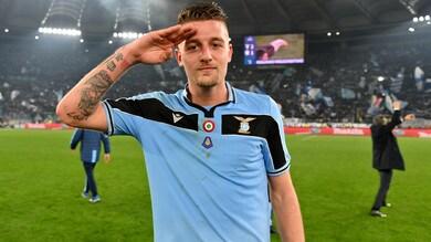 """Lazio, Milinkovic: """"Juve, noi ci siamo e vogliamo lottare. Questa è una famiglia"""""""