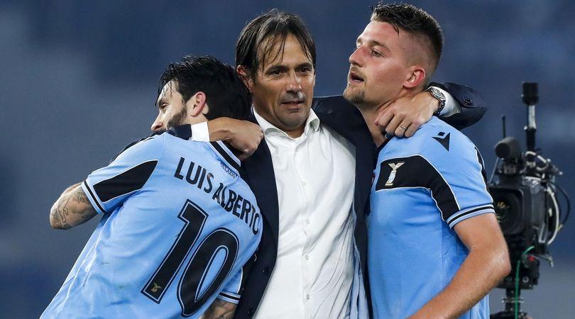 """Corsa scudetto, la Lazio c'è. Immobile: """"Avanti così"""""""