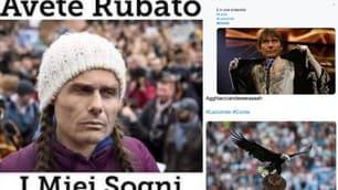Lazio-Inter: Inzaghi batte Conte e sui social parte l'ironia