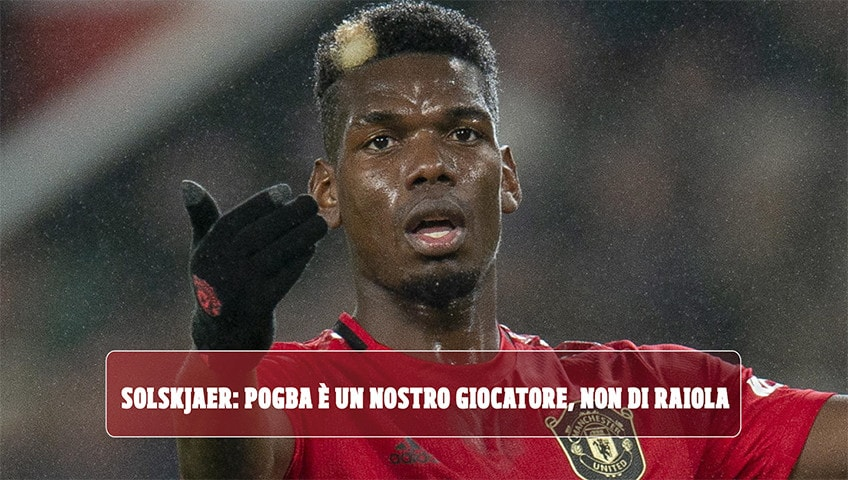 """Pogba, che caos! Il Manchester United: """"È nostro, non di Raiola"""""""