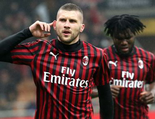 Milan-Torino 1-0, decide un gol del solito Rebic