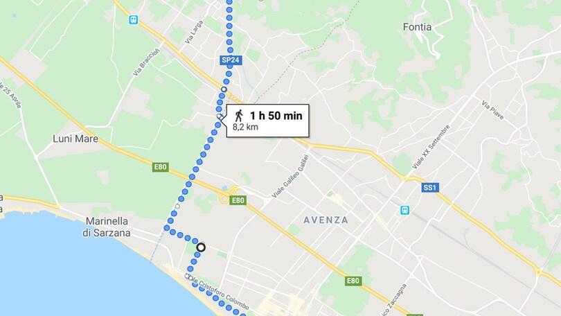 PerCorsi oggi vi porta a Carrara, pronti a respirare aria di mare!