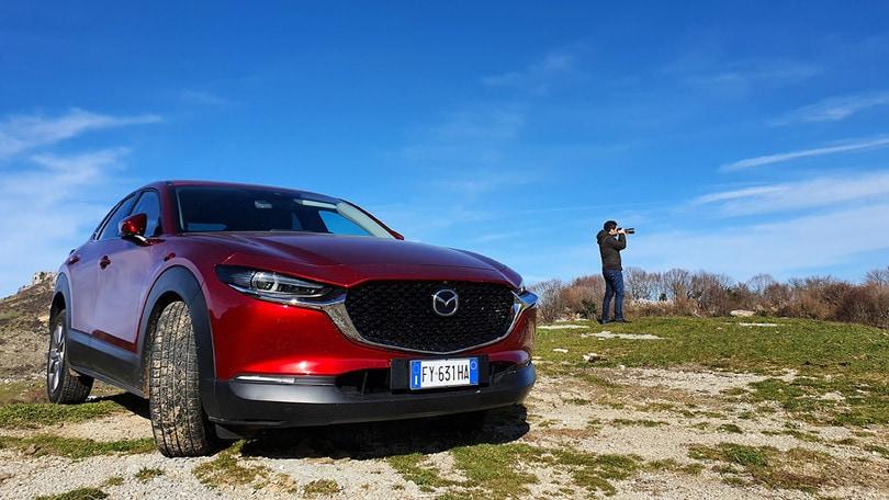 Mazda CX-30, misteri e tesori del basso Lazio: itinerario