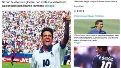 Baggio compie 53 anni: quanto affetto per il Divin Codino!