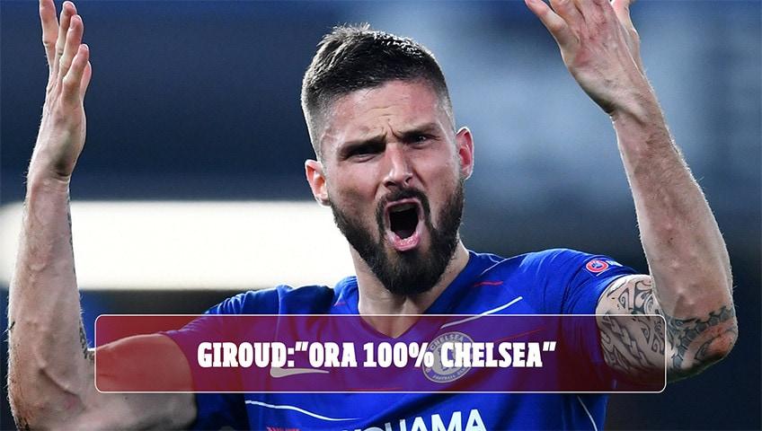 """Lazio, senti Giroud: """"A gennaio stavo per partire. Ora il 100% con il Chelsea"""""""