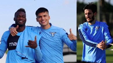 Lazio, che sorrisi a Formello dopo l'Inter: c'è anche Luis Alberto