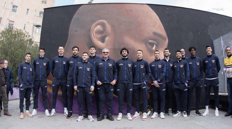 """""""Kobe Memorial Park"""" a Napoli: l'inaugurazione dell'Italbasket"""