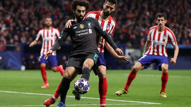 Diretta Liverpool-Atletico Madrid ore 21: formazioni ufficiali e dove vederla in tv