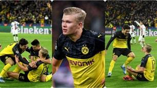 Haaland, doppietta fenomenale! Il Borussia Dortmund non sbaglia e batte il Psg